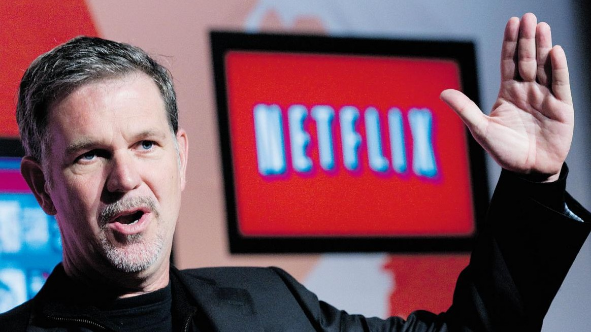 """Netflix, over 100 million subscribers. """"Our model can reinvigorate the film business""""."""