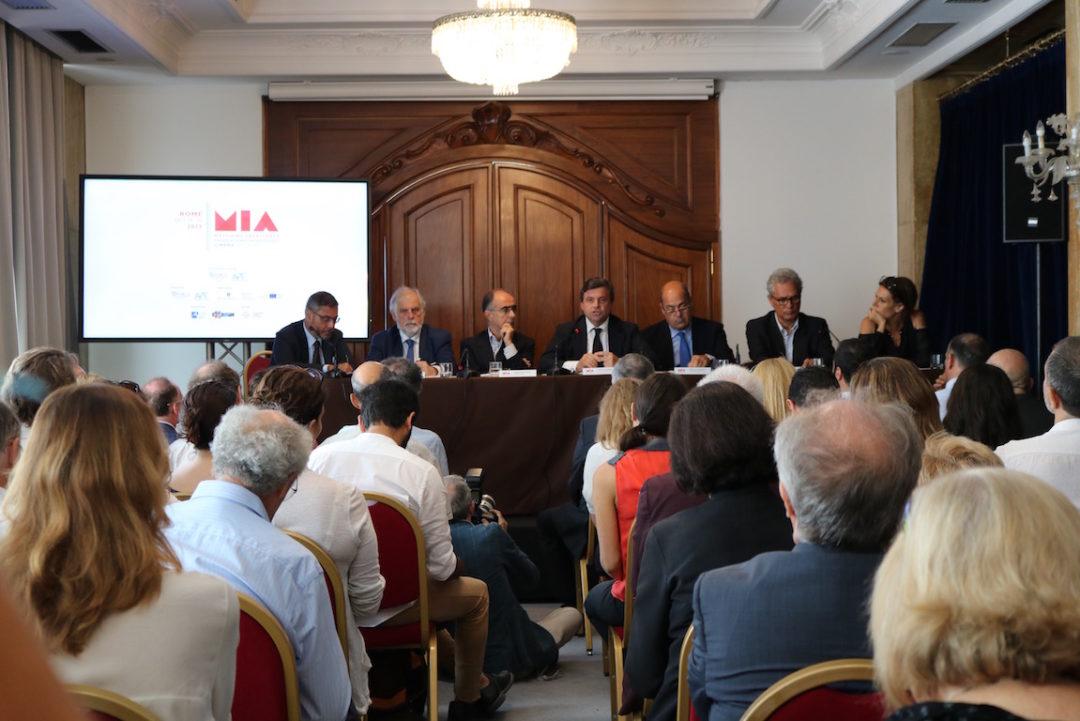 MIA Market 2017 press conference at the Hotel Bernini Bristol