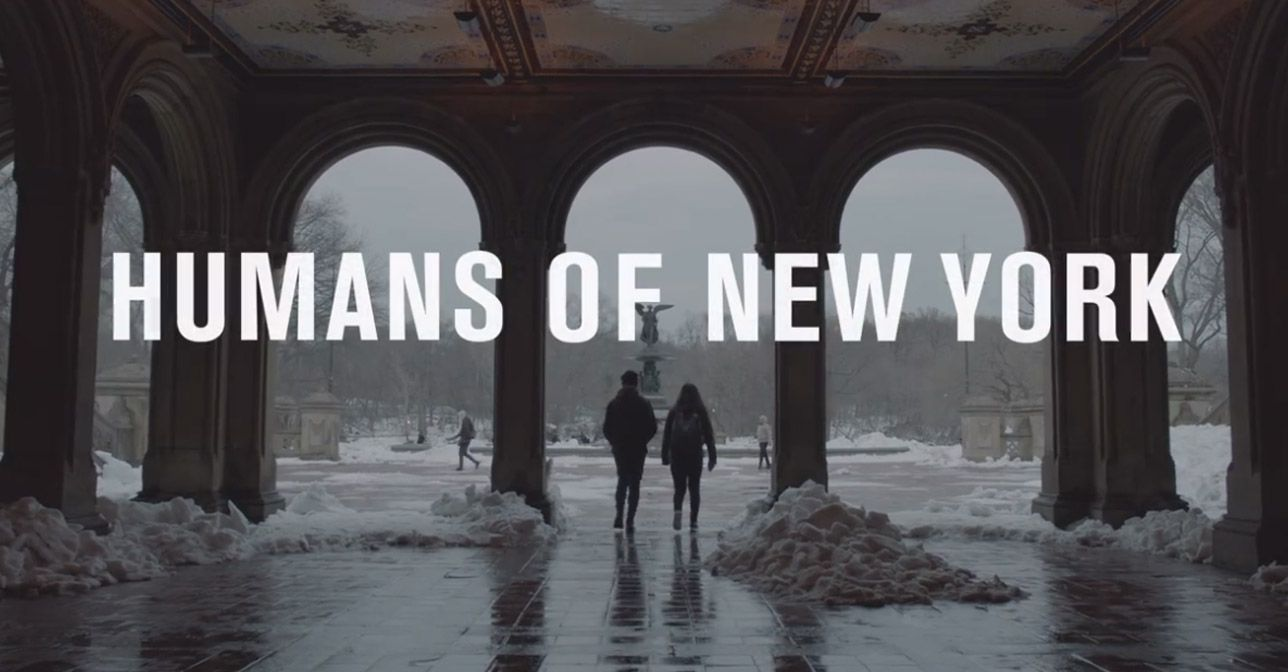 Humans of New York, la docu-serie di Brandon Stanton primo prodotto di Facebook Watch.