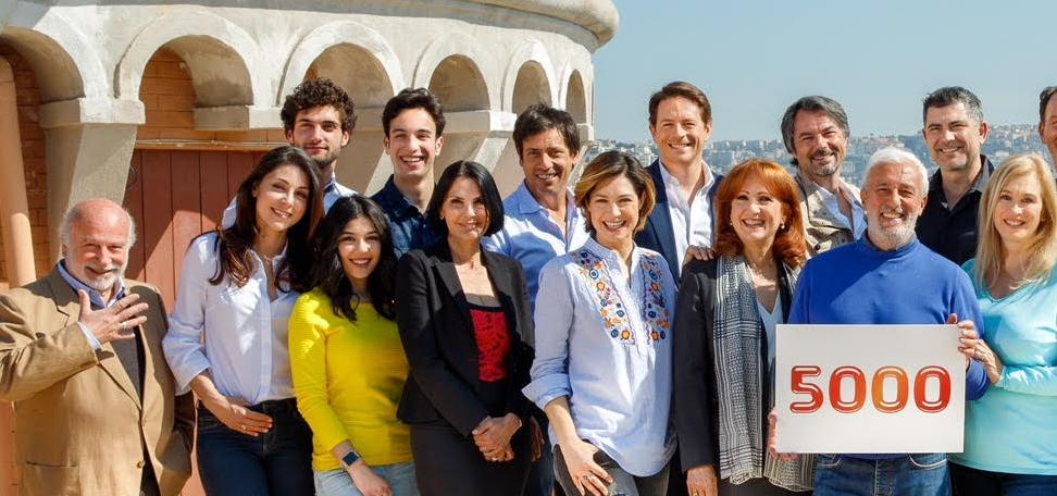 The longest Italian soap opera reaches the milestone of 5000 episodes