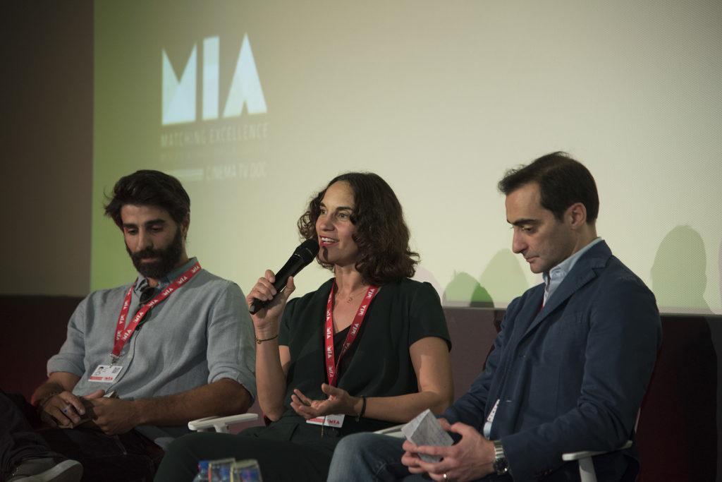 Davide Valentini, Caroline Behar, Sergio Del Prete