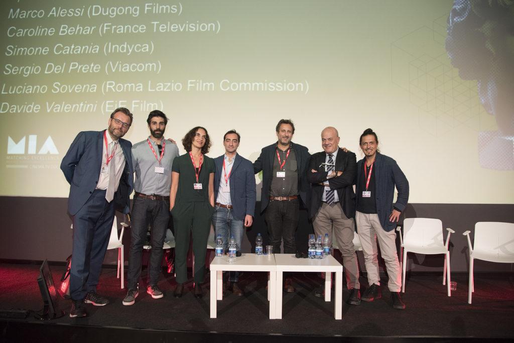 Marco Spagnoli, Davide Valentini, Caroline Behar, Sergio Del Prete, Marco Alessi, Luciano Sovena, Simone Catania