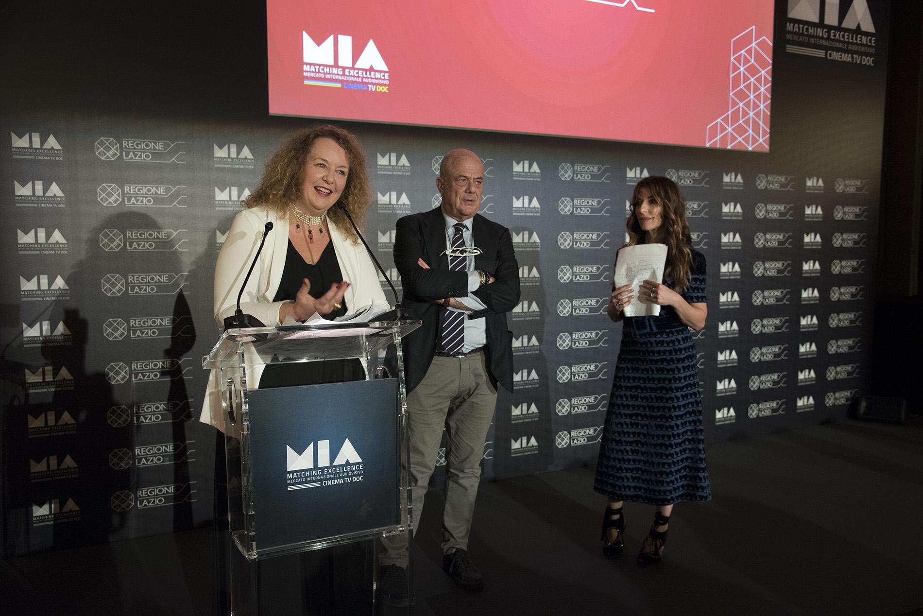 Cristina Priarone, Luciano Sovena, Sabrina Impacciatore