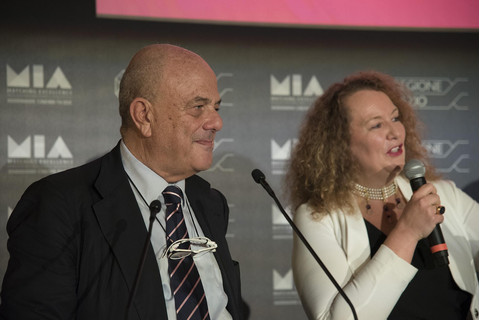 Cristina Priarone, Luciano Sovena