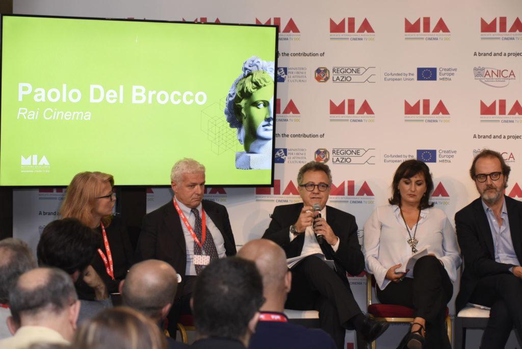 Gloria Giorgianni, Giannandrea Pecorelli, Paolo Del Brocco, Simona Ercolani, Stefano Coletta