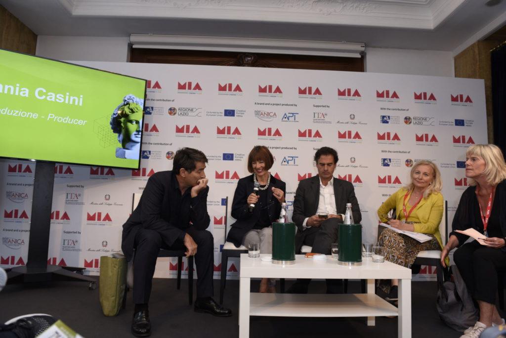 Duilio Giammaria, Stefania Casini, David Bogi, Madeleine Avramoussis