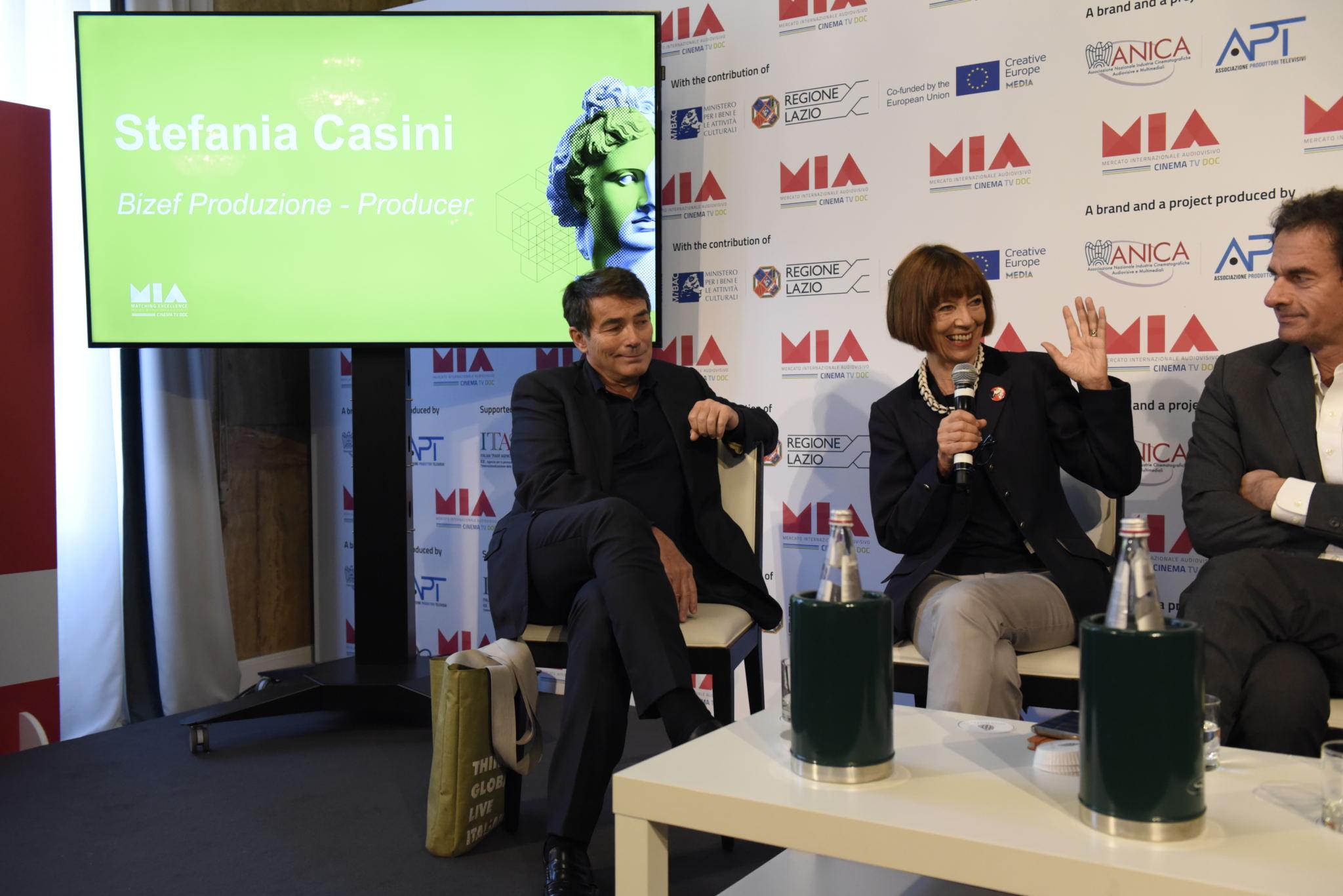 Duilio Giammaria, Stefania Casini, David Bogi