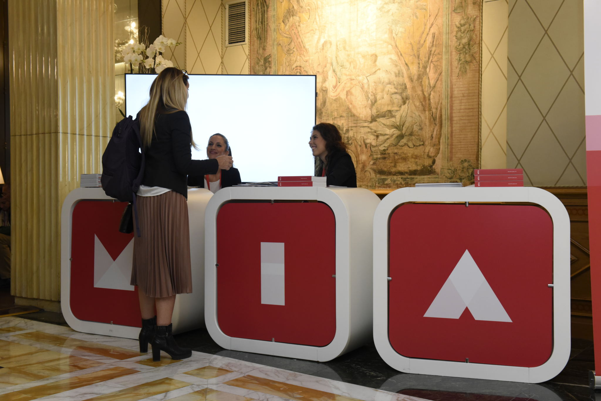 Mia Market Info Desk all'Hotel Bernini