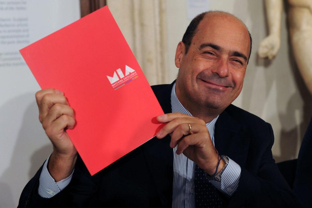 Nicola Zingaretti (Lazio Region President)