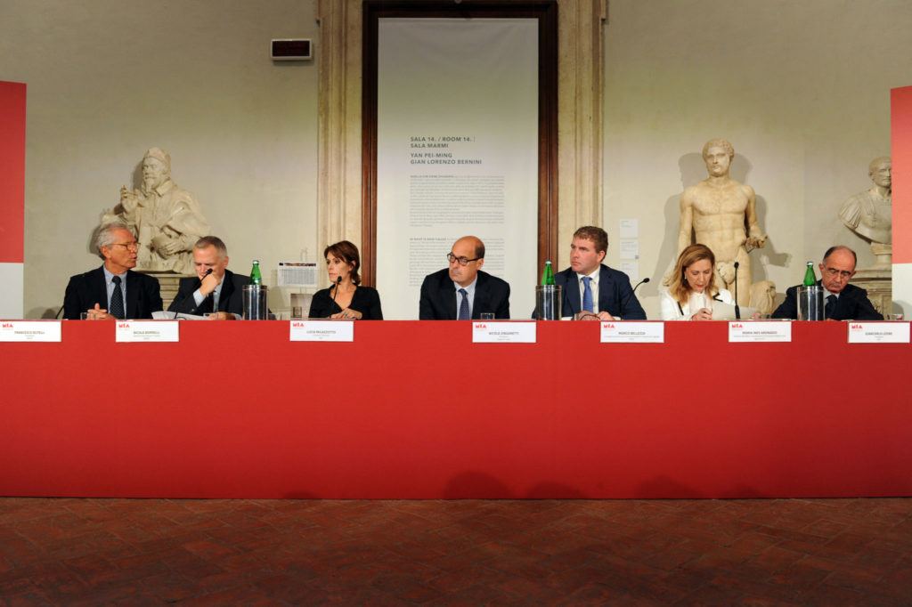 Francesco Rutelli, Nicola Borrelli, Lucia Milazzotto, Nicola Zingaretti, Marco Bellezza, Maria Ines Aronadio, Giancarlo Leone