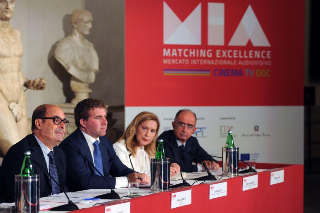 Nicola Zingaretti, Marco Bellezza, Maria Ines Aronadio, Giancarlo Leone