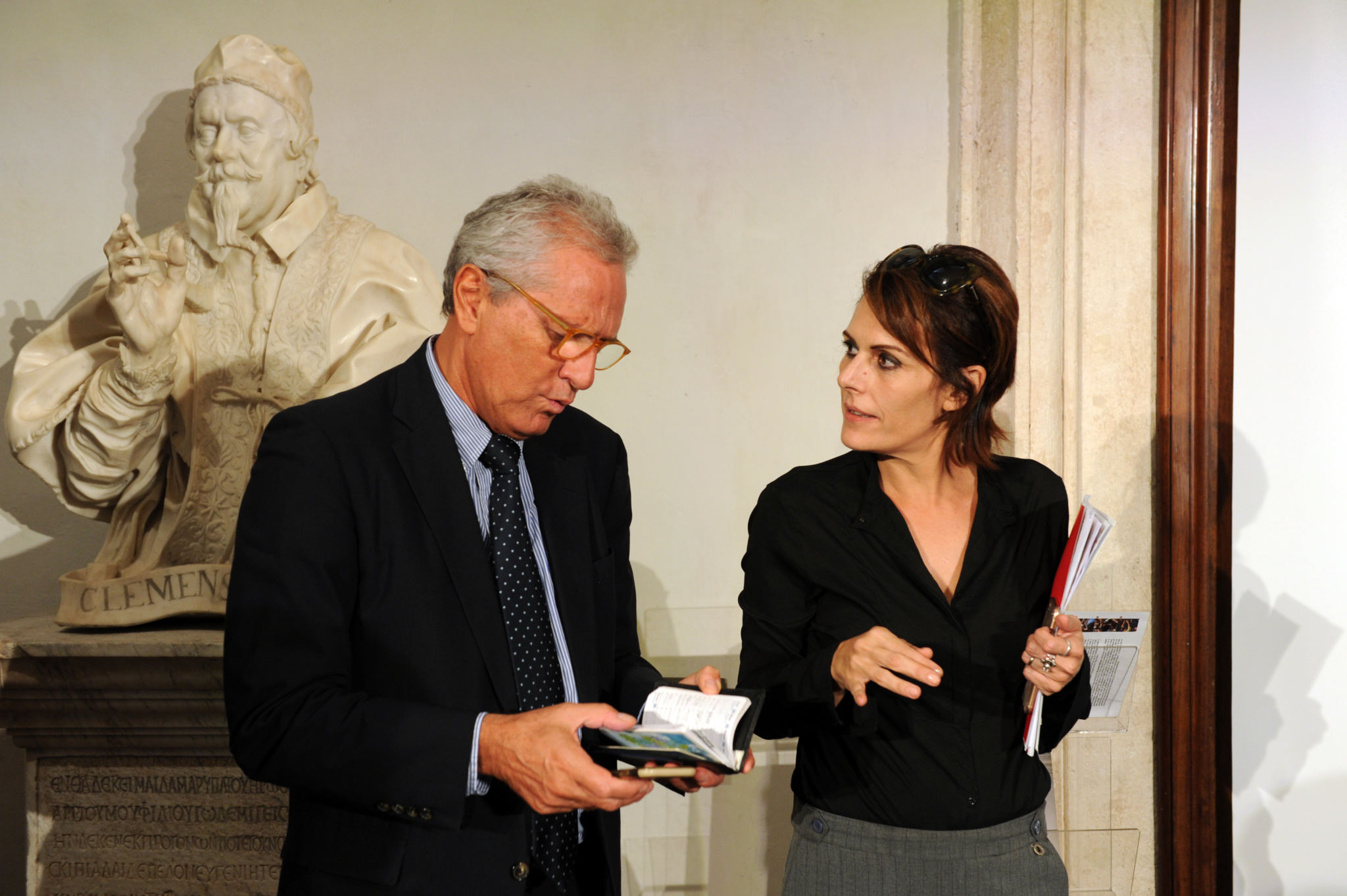Francesco Rutelli (ANICA President), Lucia Milazzotto (MIA Executive Director)