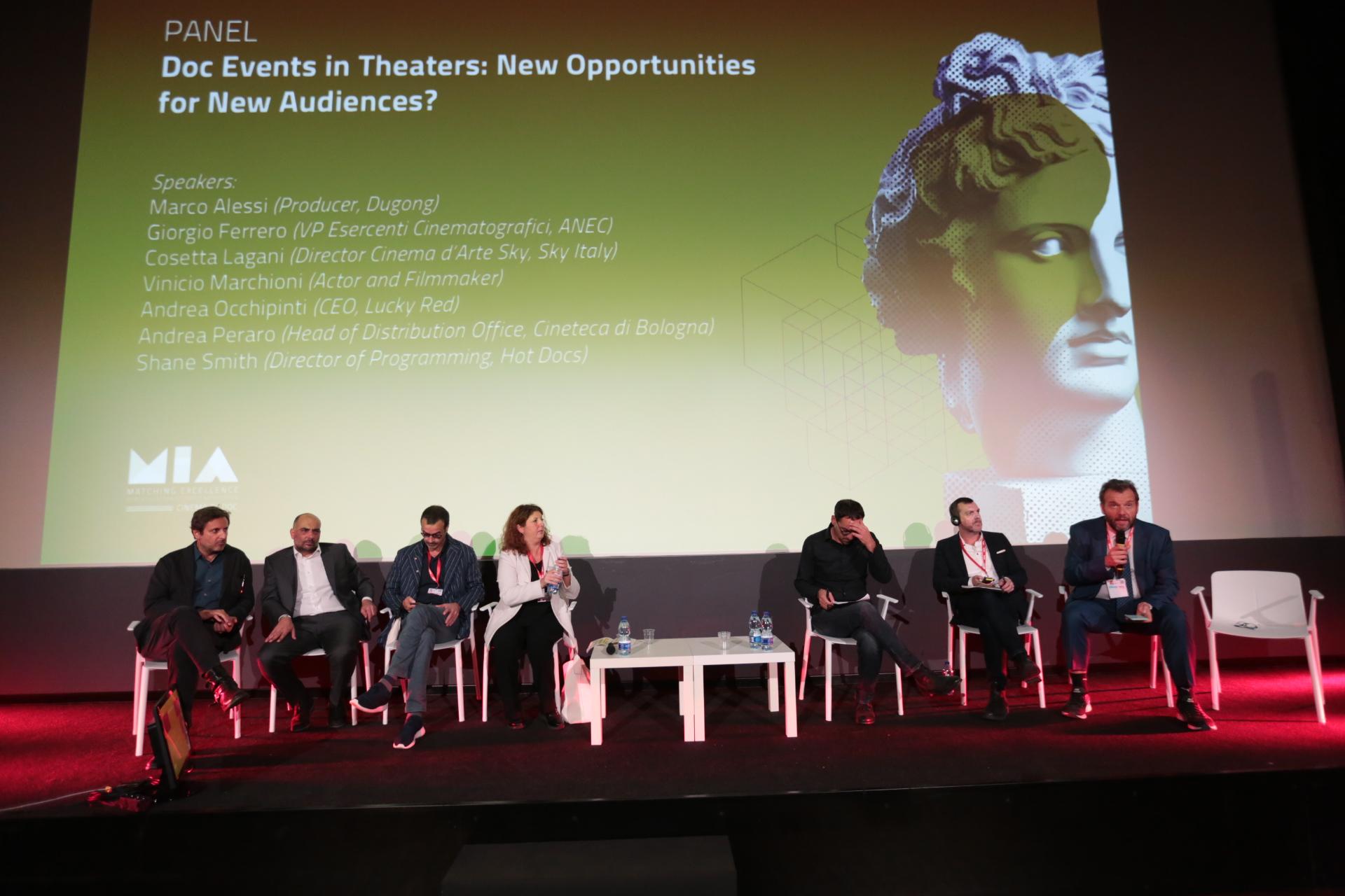 Marco Alessi, Giorgio Ferrero, Andrea Occhipinti, Cosetta Lagani, Andrea Peraro, Shane Smith, Marco Spagnoli