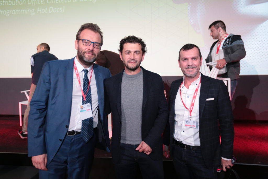 Marco Spagnoli, Vinicio Marchioni, Shane Smith