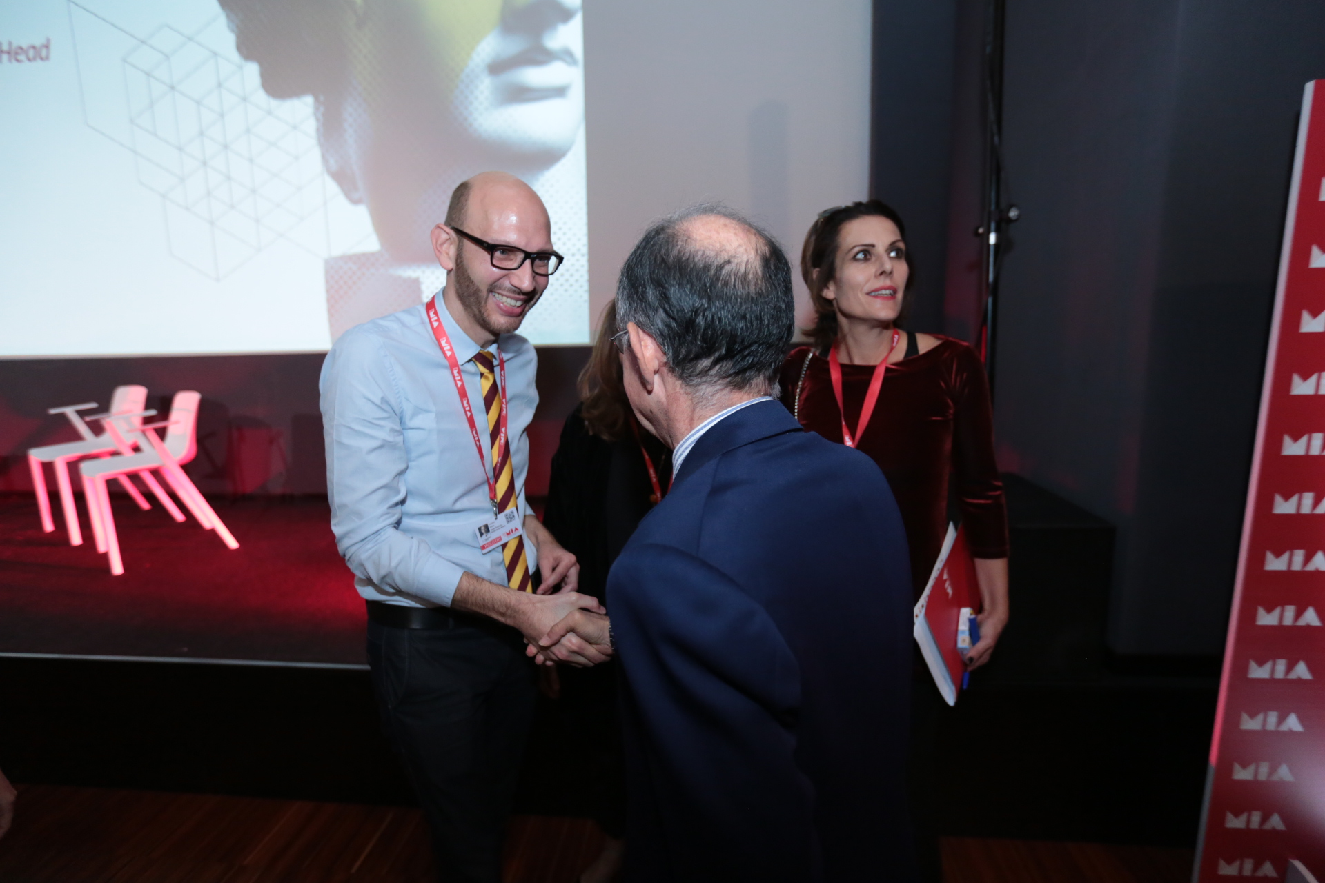 Walter Iuzzolino, Giancarlo Leone, Lucia Milazzotto