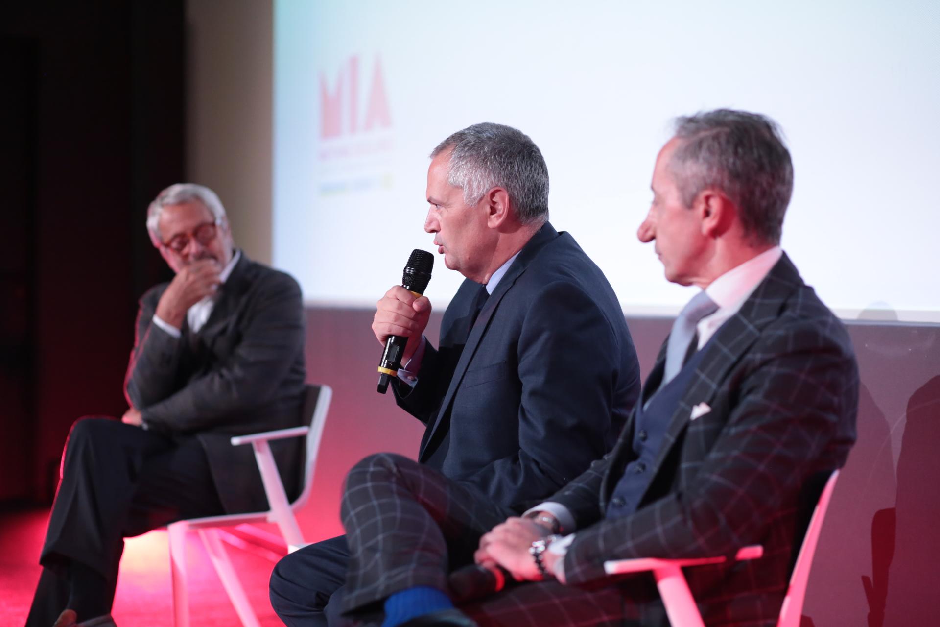 Roberto Cicutto, Nicola Borrelli, Roberto Stabile