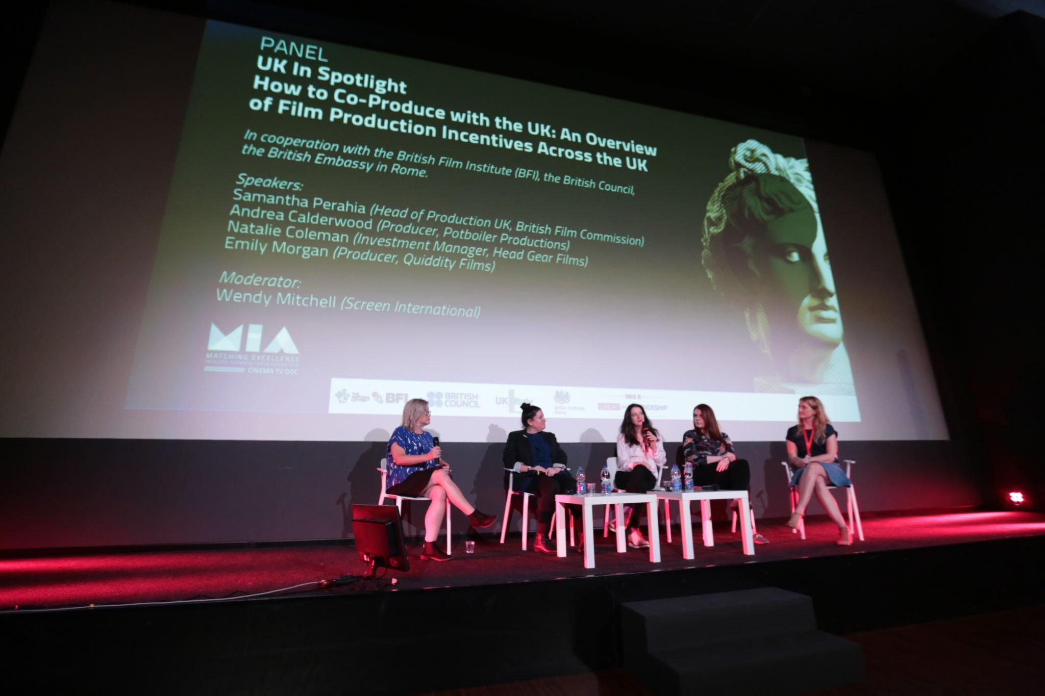 Wendy Mitchell, Samantha Perahia, Andrea Calderwood, Natalie Coleman, Emily Morgan