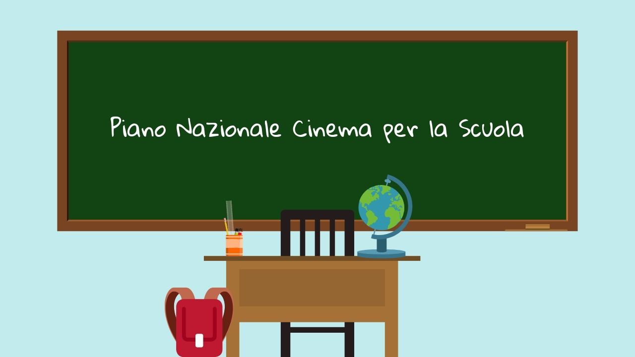 Cinema for Schools National Plan: € 12 million allocated