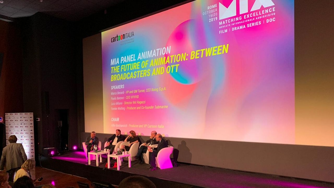 The Future of Animation: Between Broadcasters and OTT