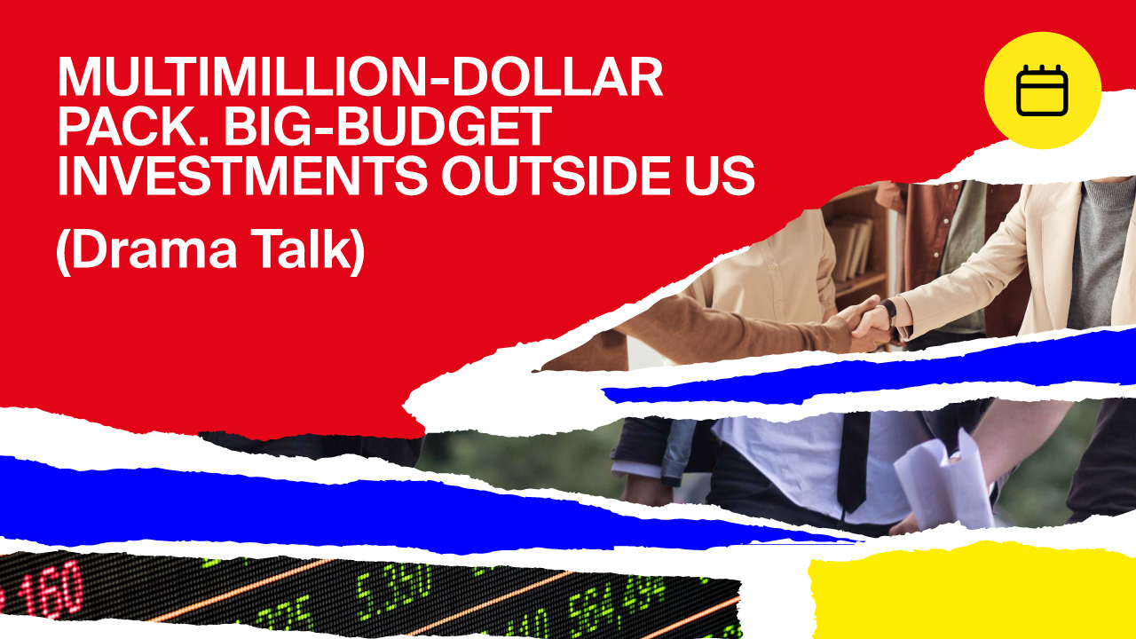 Multimillion-dollar Pack. Big-budget investments outside US