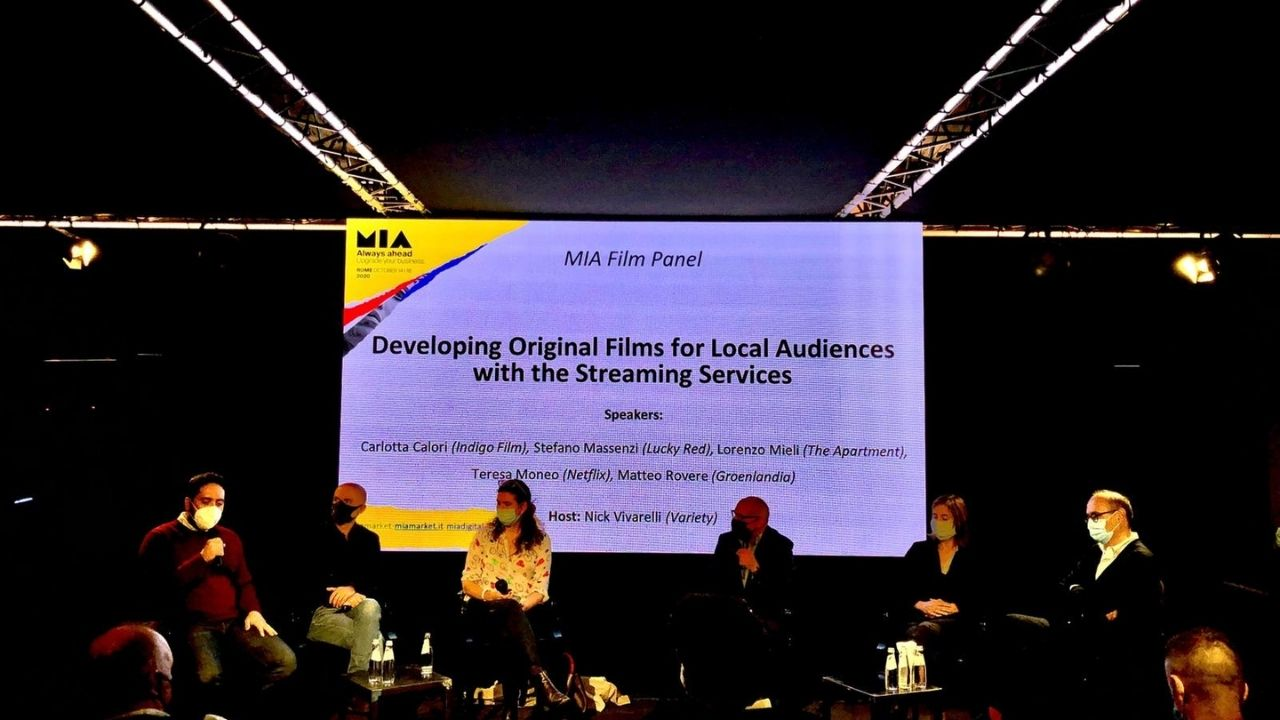 "MIA 2020, The panel ""Developing Original Films for Local Audiences with the Streaming Services"""