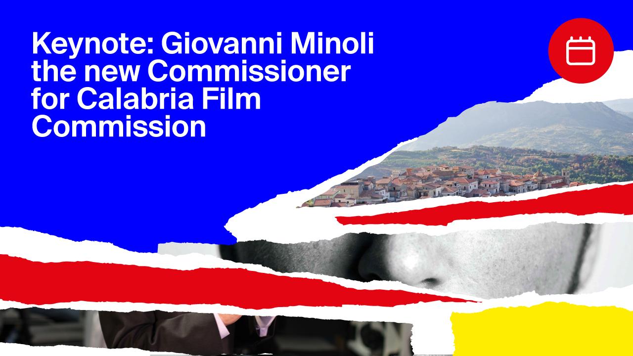 Keynote: Giovanni Minoli the new Commissioner for Calabria Film Commission
