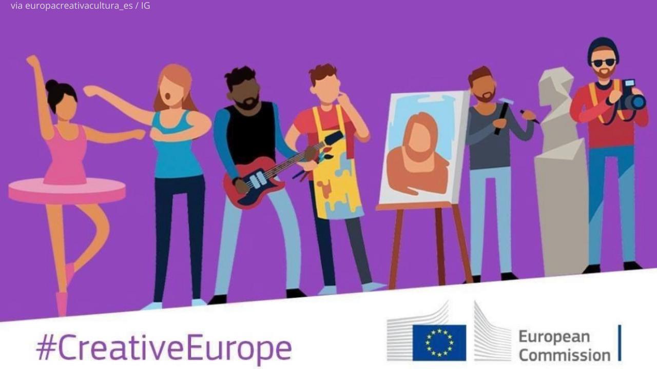 Europa Creativa aumenta il budget del programma MEDIA