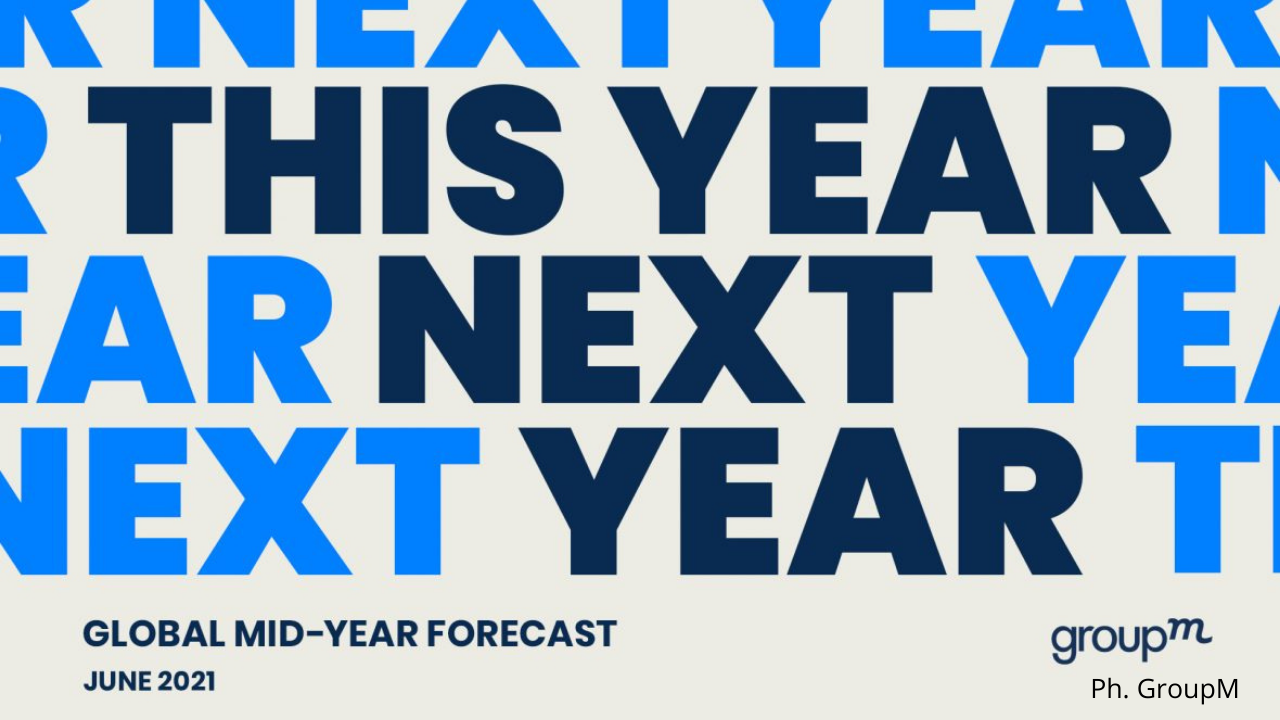 GroupM prevede un aumento del 19% della pubblicità globale nel 2021
